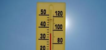 Dnes se teploty dostanou k 34°C, zítra to bude až 38°C.