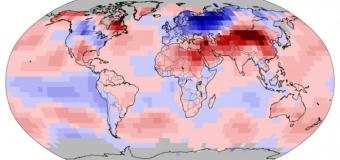 První čtvrtina roku 2018 byla nejchladnější od roku 2014