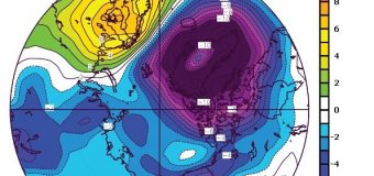 Rozloha mořského ledu v Arktidě byla v květnu druhá nejnižší