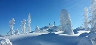 Fotografie: Nejvíce sněhu má masiv Plechý na Šumavě, 201cm