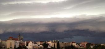Přes Českou republiku se prohnaly intenzivní bouřky
