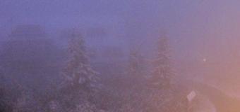 Lysá hora v Beskydech hlásí 3cm sněhovou souvislou pokrývku