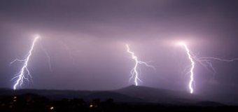 Supercelární bouře a squall line dne 15. 8. 2008