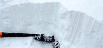 Sněžka hlásí -5°C a metrové závěje nového sněhu