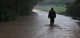 Vlivem vydatných srážek stoupají na JZ Čech řeky