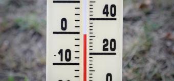 Dnešní ráno bylo opět chladné, na Rokytské slati bylo -7°C