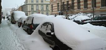Pozor na silné sněžení, může napadnout 10 až 20cm sněhu