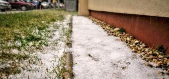 """Anglický Birmingham započal podzim v """"bílém kabátě"""""""